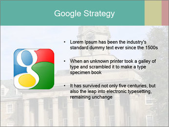 Old Main Building PowerPoint Templates - Slide 10