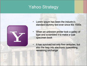 Old Main Building PowerPoint Template - Slide 11