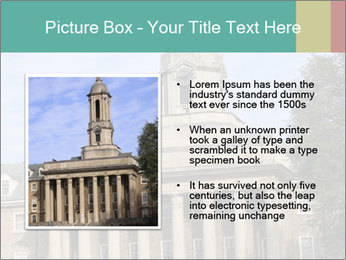 Old Main Building PowerPoint Templates - Slide 13