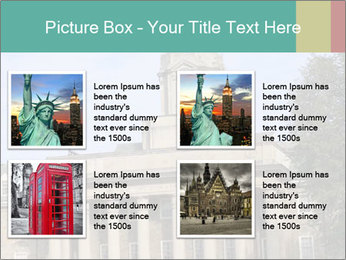 Old Main Building PowerPoint Template - Slide 14