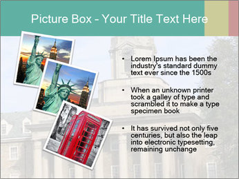 Old Main Building PowerPoint Template - Slide 17
