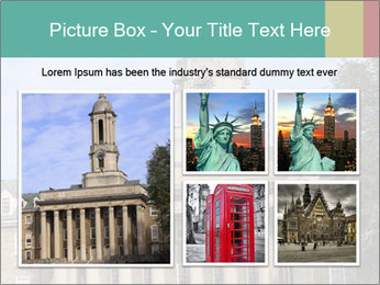 Old Main Building PowerPoint Template - Slide 19