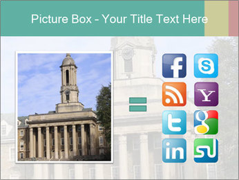 Old Main Building PowerPoint Templates - Slide 21