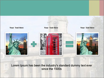 Old Main Building PowerPoint Template - Slide 22