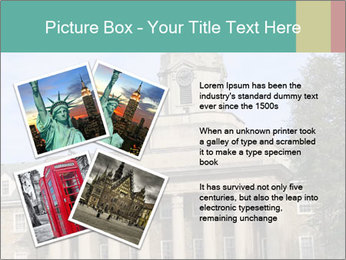 Old Main Building PowerPoint Template - Slide 23