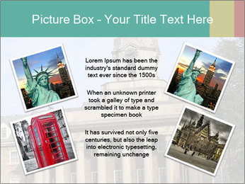 Old Main Building PowerPoint Templates - Slide 24