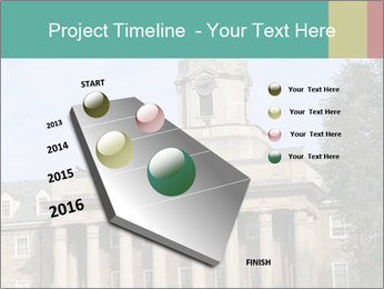 Old Main Building PowerPoint Templates - Slide 26