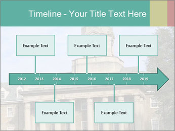 Old Main Building PowerPoint Templates - Slide 28