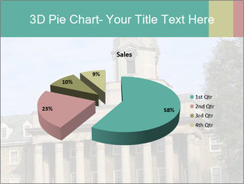 Old Main Building PowerPoint Templates - Slide 35