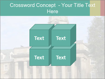 Old Main Building PowerPoint Template - Slide 39