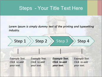 Old Main Building PowerPoint Template - Slide 4