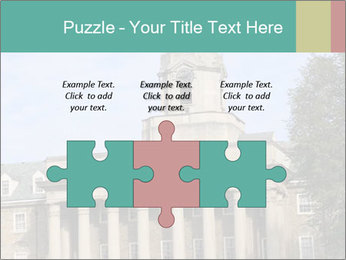 Old Main Building PowerPoint Templates - Slide 42