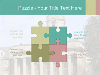 Old Main Building PowerPoint Templates - Slide 43