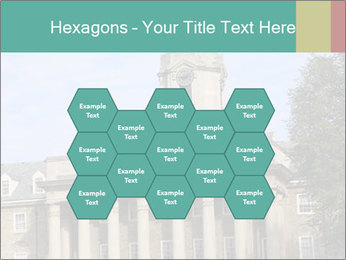 Old Main Building PowerPoint Template - Slide 44
