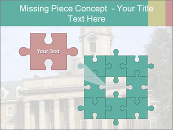 Old Main Building PowerPoint Template - Slide 45