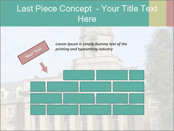 Old Main Building PowerPoint Template - Slide 46