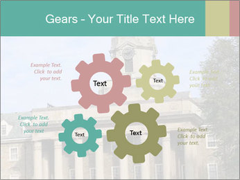 Old Main Building PowerPoint Template - Slide 47