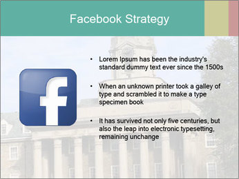 Old Main Building PowerPoint Templates - Slide 6
