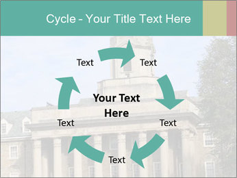 Old Main Building PowerPoint Templates - Slide 62
