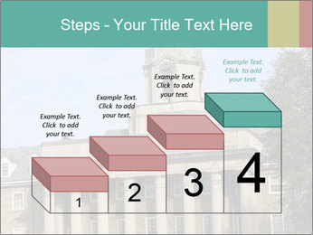 Old Main Building PowerPoint Template - Slide 64