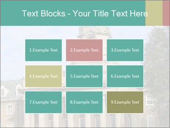 Old Main Building PowerPoint Template - Slide 68