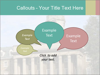Old Main Building PowerPoint Templates - Slide 73