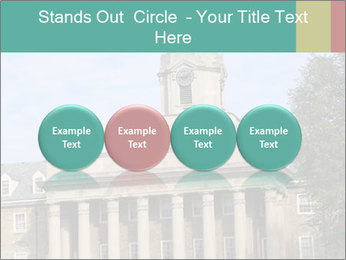Old Main Building PowerPoint Templates - Slide 76