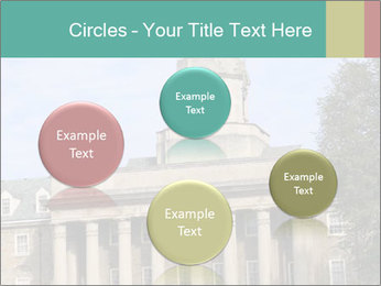 Old Main Building PowerPoint Templates - Slide 77