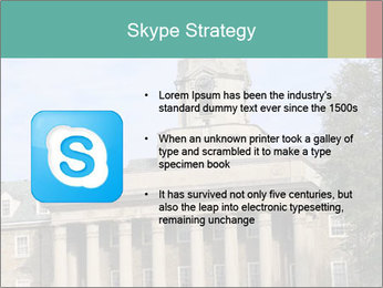 Old Main Building PowerPoint Template - Slide 8