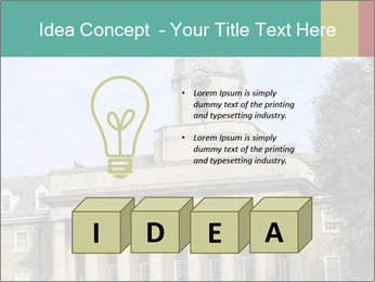Old Main Building PowerPoint Templates - Slide 80