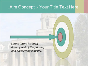 Old Main Building PowerPoint Templates - Slide 83