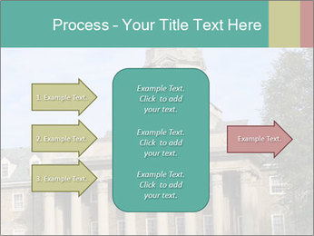 Old Main Building PowerPoint Template - Slide 85