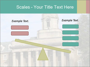 Old Main Building PowerPoint Template - Slide 89