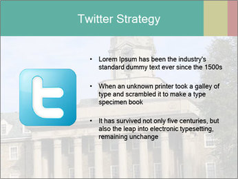 Old Main Building PowerPoint Templates - Slide 9