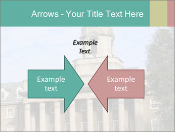 Old Main Building PowerPoint Template - Slide 90