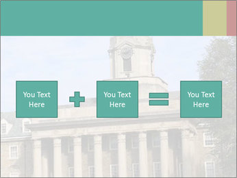 Old Main Building PowerPoint Template - Slide 95