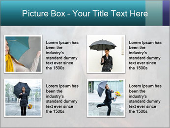 Middle-aged woman PowerPoint Template - Slide 14