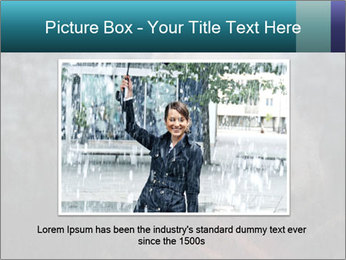 Middle-aged woman PowerPoint Template - Slide 15