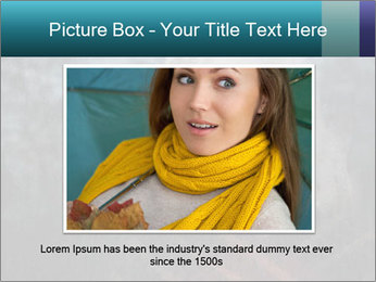 Middle-aged woman PowerPoint Template - Slide 16