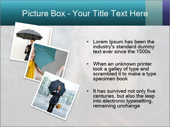Middle-aged woman PowerPoint Template - Slide 17