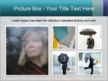 Middle-aged woman PowerPoint Template - Slide 19