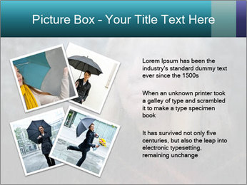 Middle-aged woman PowerPoint Template - Slide 23