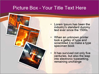 Pouring of liquid metal PowerPoint Template - Slide 17