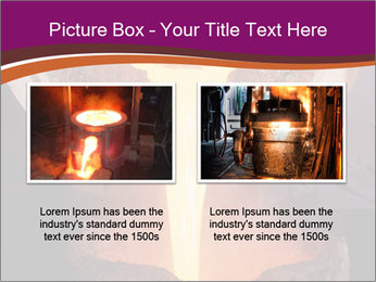 Pouring of liquid metal PowerPoint Template - Slide 18