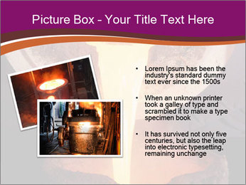 Pouring of liquid metal PowerPoint Template - Slide 20