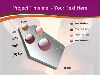 Pouring of liquid metal PowerPoint Template - Slide 26
