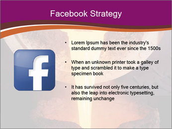 Pouring of liquid metal PowerPoint Template - Slide 6