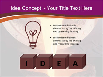 Pouring of liquid metal PowerPoint Template - Slide 80