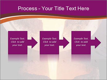 Pouring of liquid metal PowerPoint Template - Slide 88
