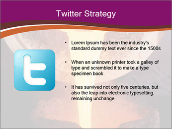 Pouring of liquid metal PowerPoint Template - Slide 9